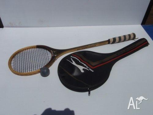 Slazenger Squash Racket with cover.