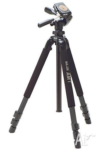 Slik Pro 700DX Tripod Legs plus Pro 700DX 3-way Head