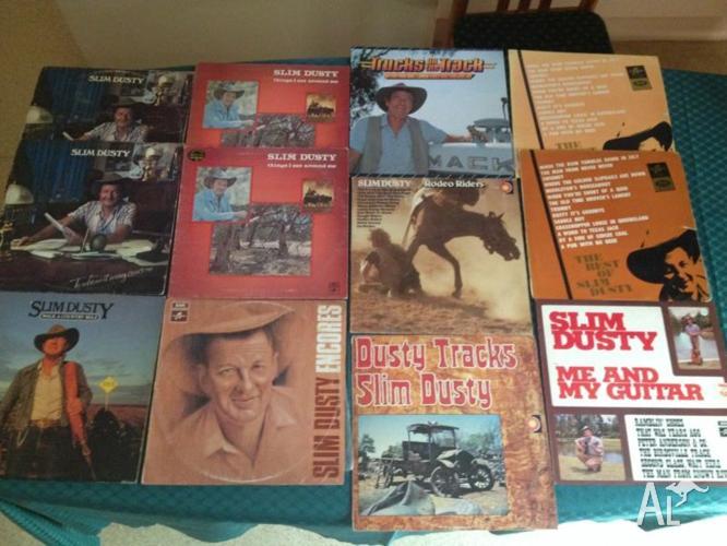 Slim Dusty LPs