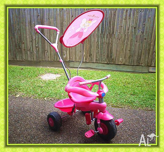 Smart Trike Pink Candy Fairy Princess Tricycle Toddler