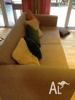 Sofa Comfortable great for extra overnight guests