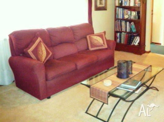 Sofa, Recliners & Coffee Table