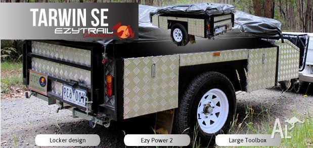 Soft-Floor Camper Trailer package: Tarwin SE