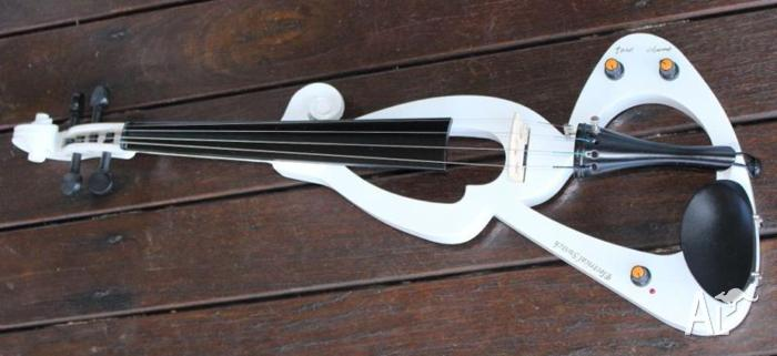 sojing silent electric violin for sale in cedar creek new south wales classified. Black Bedroom Furniture Sets. Home Design Ideas