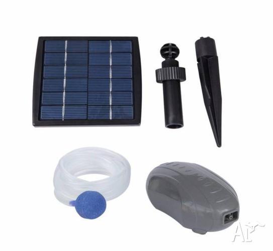 Solar air pump