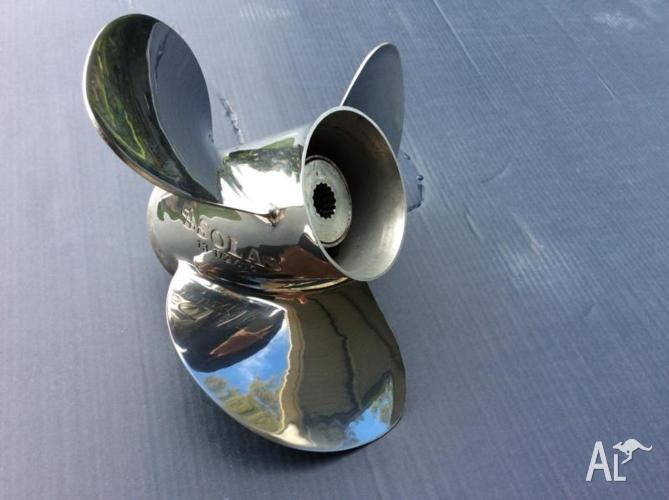 Solas s/s propeller 13x1/2x15 suit Yamaha 60-140 , 15