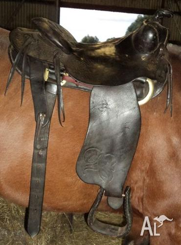 Sold 16 Proper Roping Western Saddle King Of Texas For