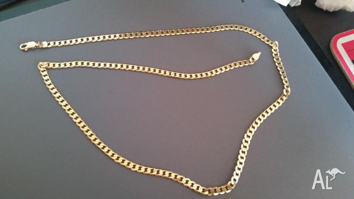 Solid 9crt gold chain(PRICE DROP)