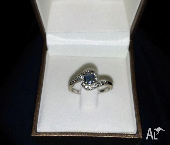 Solitaire ring Sapphire