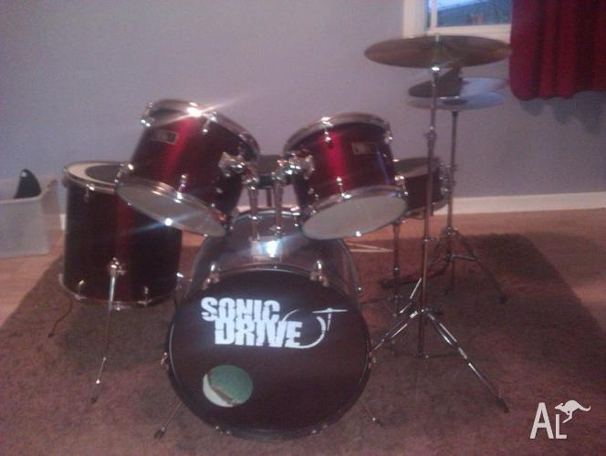Sonic Drive Drumkit