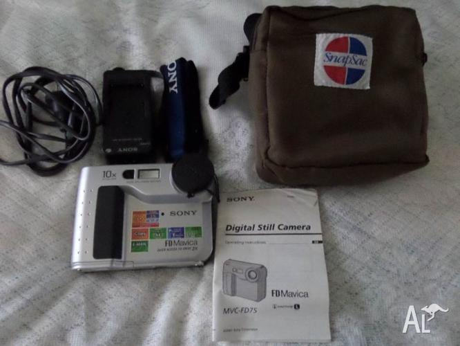 SONY DIGITAL STILL CAMERA. WORKS WITH FLOPPY DISKS. $10