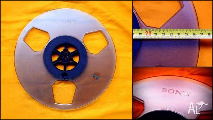 SONY Empty 10.5 inch Reel Tape (1/4 inch)