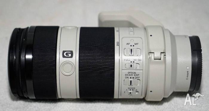 Sony FE 70-200 35mm Full frame lens