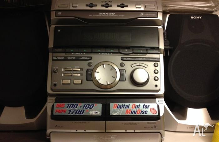 Sony Hi Fi Stereo Grx30