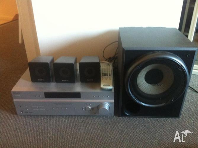 Sony Home Theatre Amp (STR-K785) & Speakers for Sale in ...