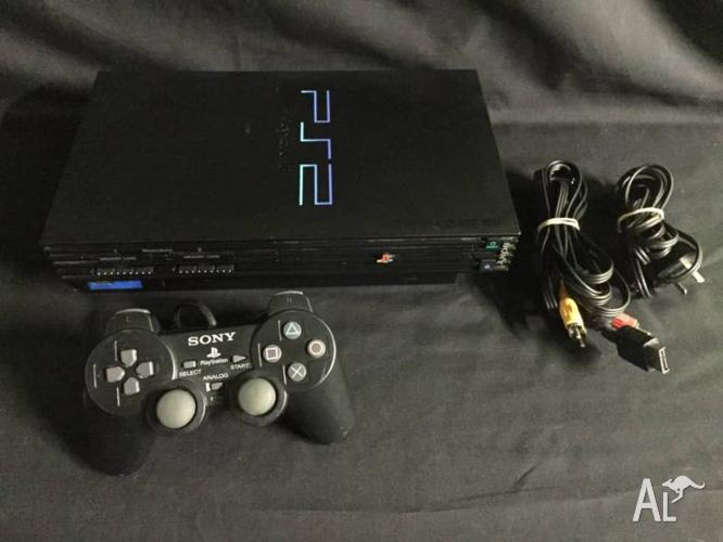 Sony Playstation 2 Console Pack + 1 Controller & Leads
