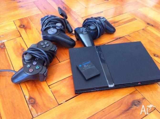 Sony Playstation 2 - Slim PS2 + EXTRAS