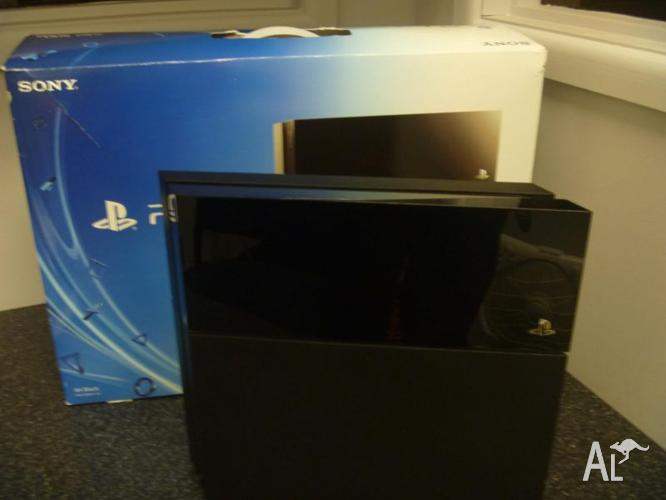 SONY PS4 CONSOLE & ACCESSORIES FOR SALE