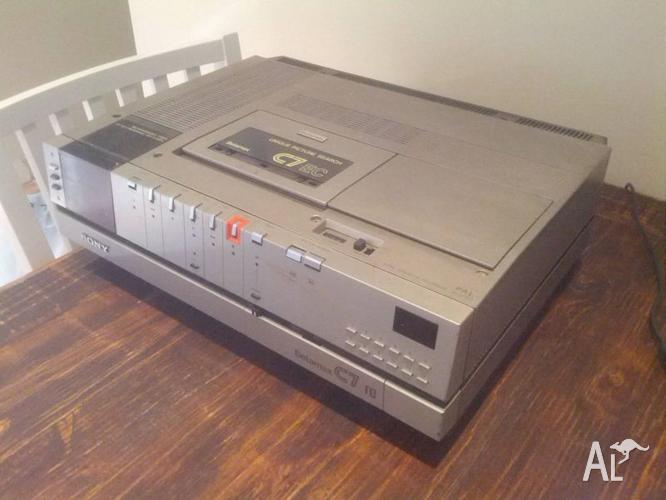 Sony SL-C7EC Betamax