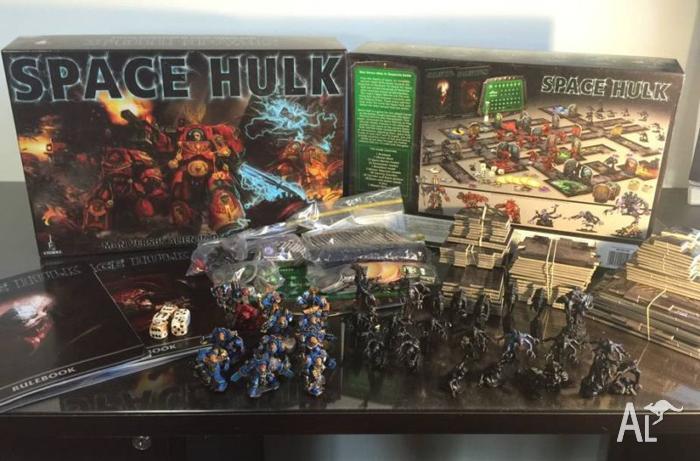 SPACE HULK Warhammer 40k Board Game 3rd edition PERFECT