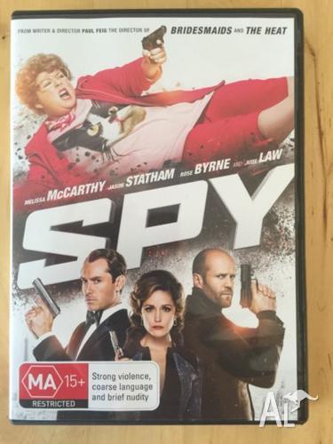 SPY DVD near new