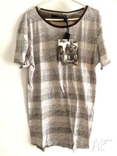 St Lenny's Striped Vintage Shirt