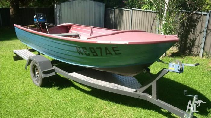 Stacer 3 7m boat with 2 year old 25 hp mercury motor for for 400 hp boat motor price