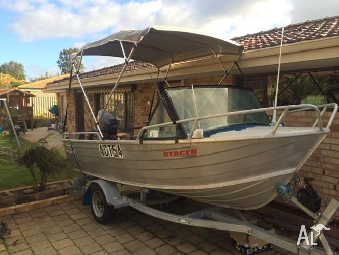 Stacer 3.9m runabout 30hp