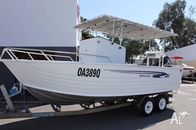Stacer 605 Ocean Fisher + 2011 Mercury 150hp 4-Stroke