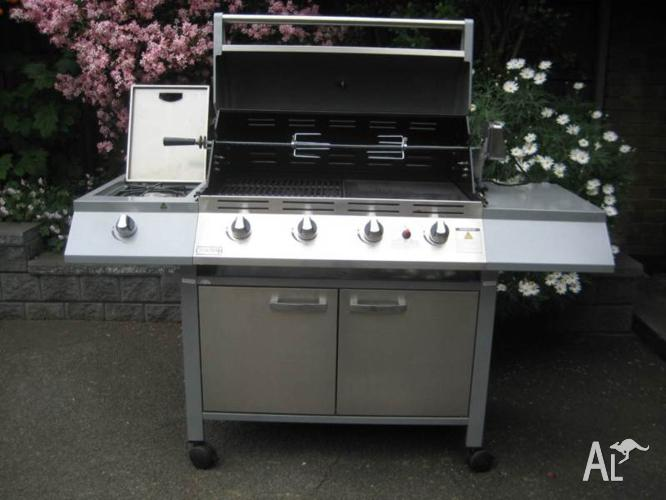 Stailess steel 4 burner