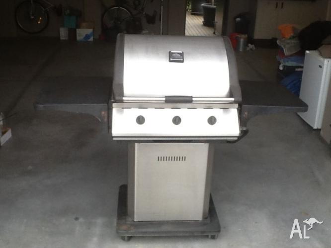 Stainless Steel 3 Burner BBQ