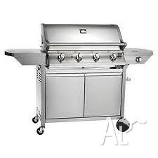 Stainless.steel 4 burner bbq never used
