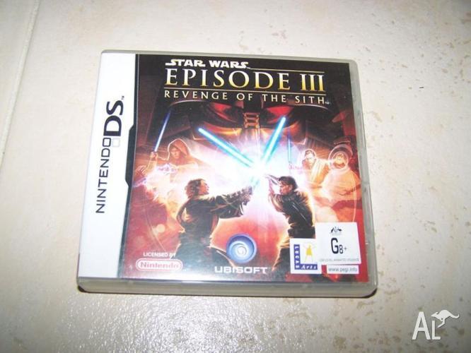 Star wars episode 3 nintendo DS game