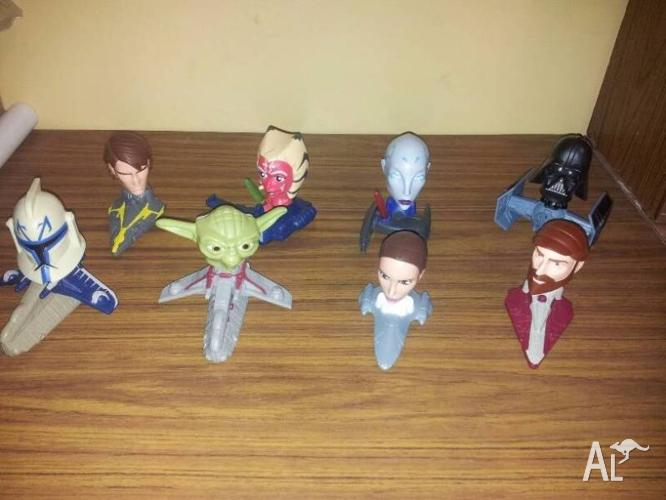 Star Wars McDonalds Toys ( Set of 8 )