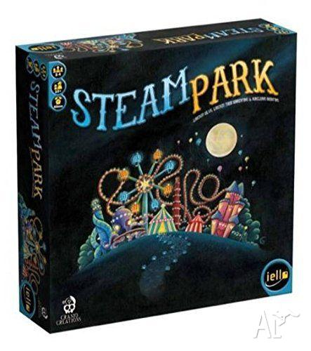 Steam Park Boardgame - brand new