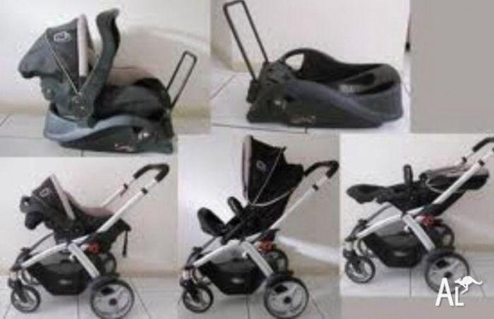 Steelcraft cruiser travel system & capsule . Close to