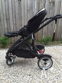 Steelcraft Strider Compact Onyx stroller/pram for sale