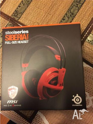 SteelSeries Siberia V2 headset and MSI X99S Gaming 9