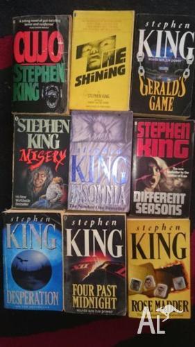 Stephen King Novels horror/supernatural