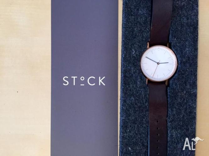 STOCK WATCH S002R! UNISEX MELBOURNE DESIGNED! 36MM