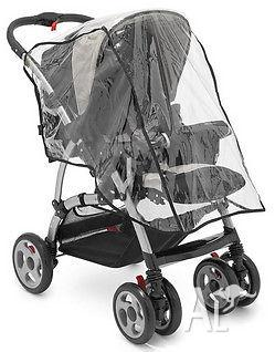 Stroller with one Universal Baby Shade+ one Storm Cover