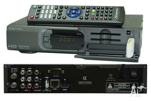 Strong 4930 satellite receiver, full HD, Cccam,