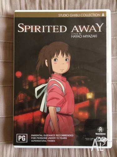 Studio Ghibli Anime - Spirited Away DVD