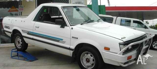 1990 subaru brumby