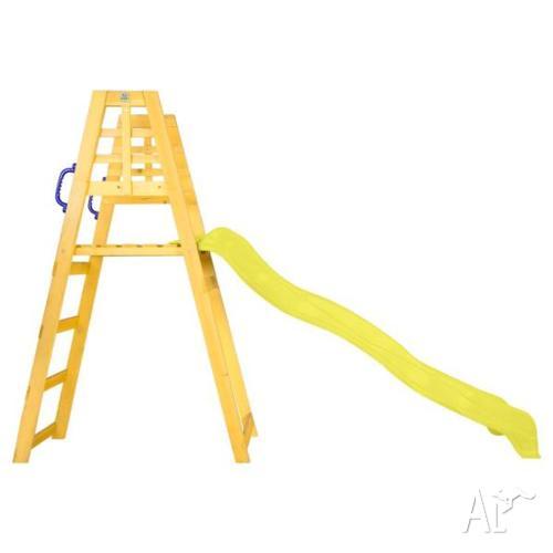 Sunshine 2.2m Climb & Slide in Yellow
