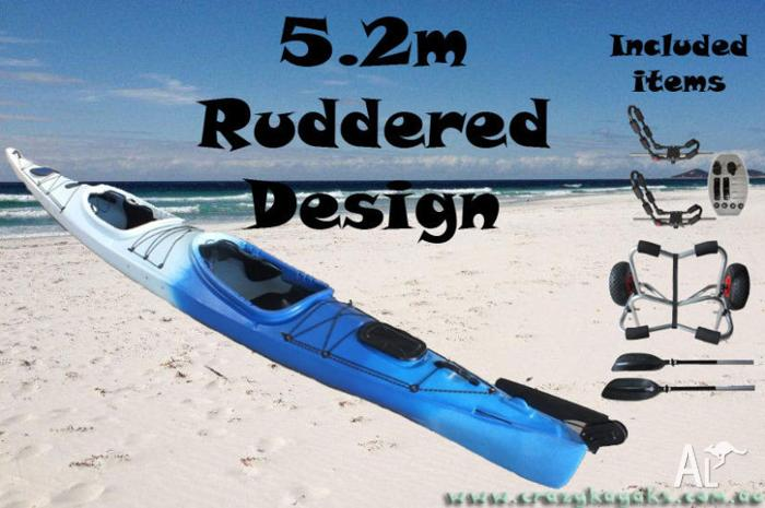 Super Fast Double Sit In Touring Expedition Sea Kayak