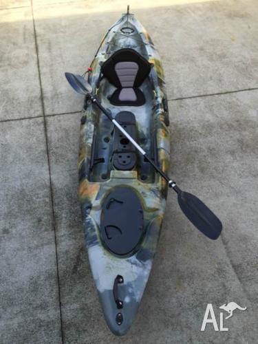 Super Stable 3.6M Rudder Fishing Kayak SALE !! Only