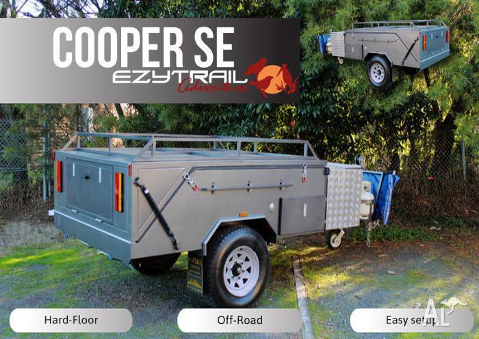 Superior Hard-Floor camper Trailer package:Cooper SE