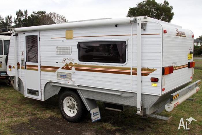Supreme Getaway Off Road Caravan For Sale In Blacksmiths