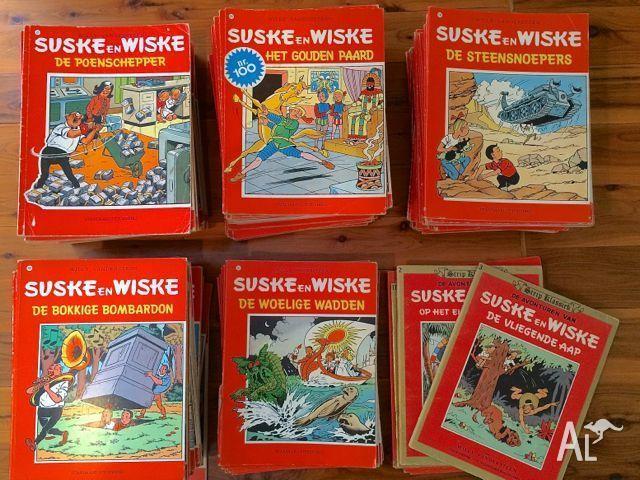 Suske en Wiske comic books from Belgium/Netherlands